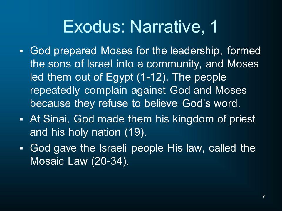 Exodus: Narrative, 1