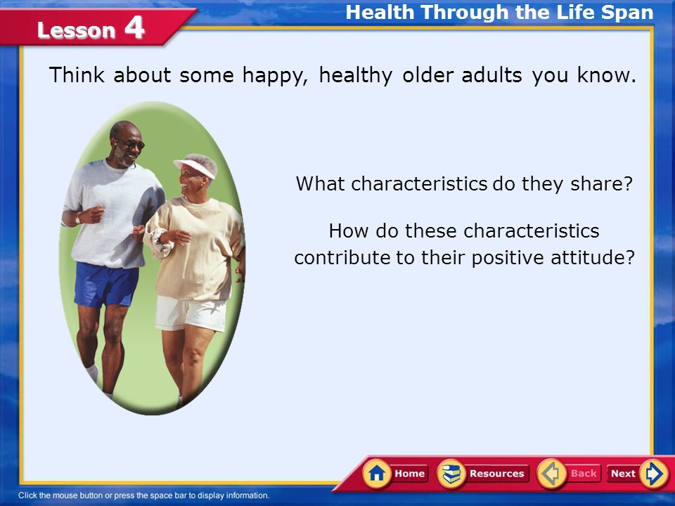 Health Through the Life Span