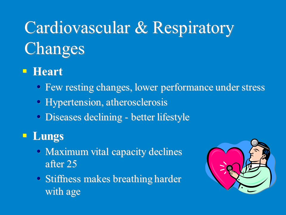 Cardiovascular & Respiratory Changes