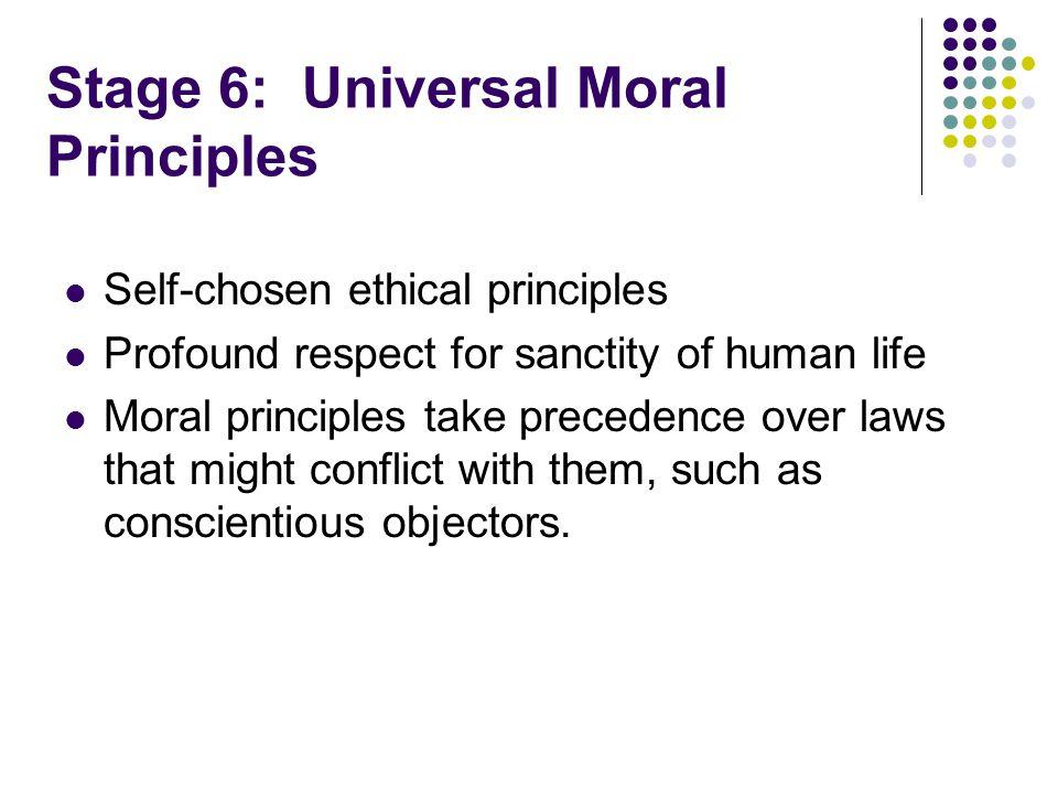 Stage 6: Universal Moral Principles