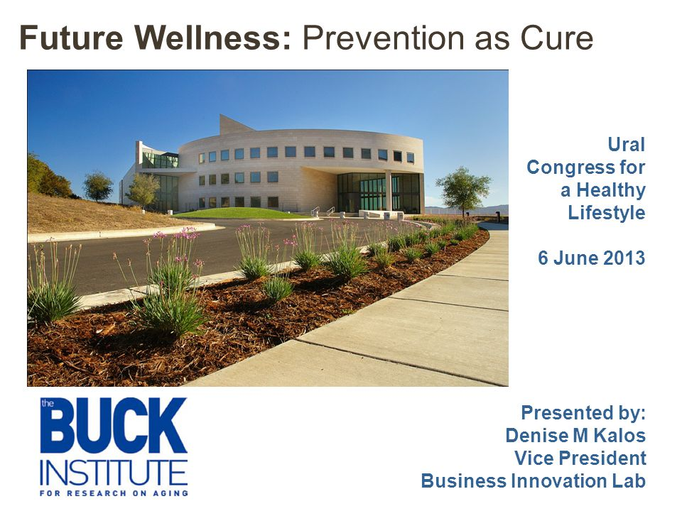 Future Wellness: Prevention as Cure