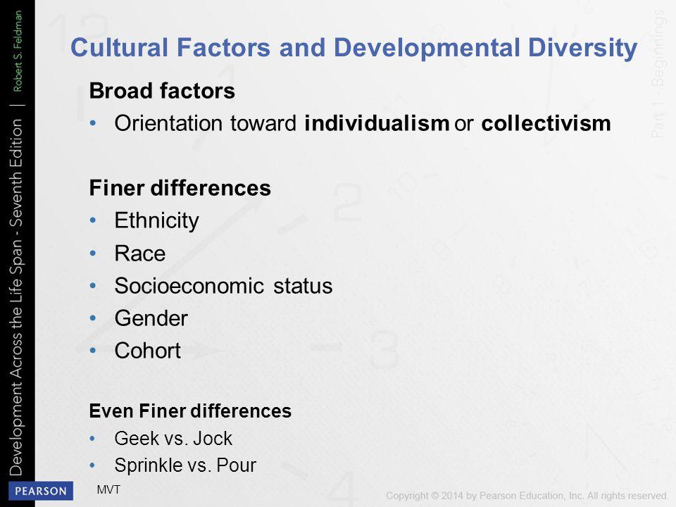 Cultural Factors and Developmental Diversity