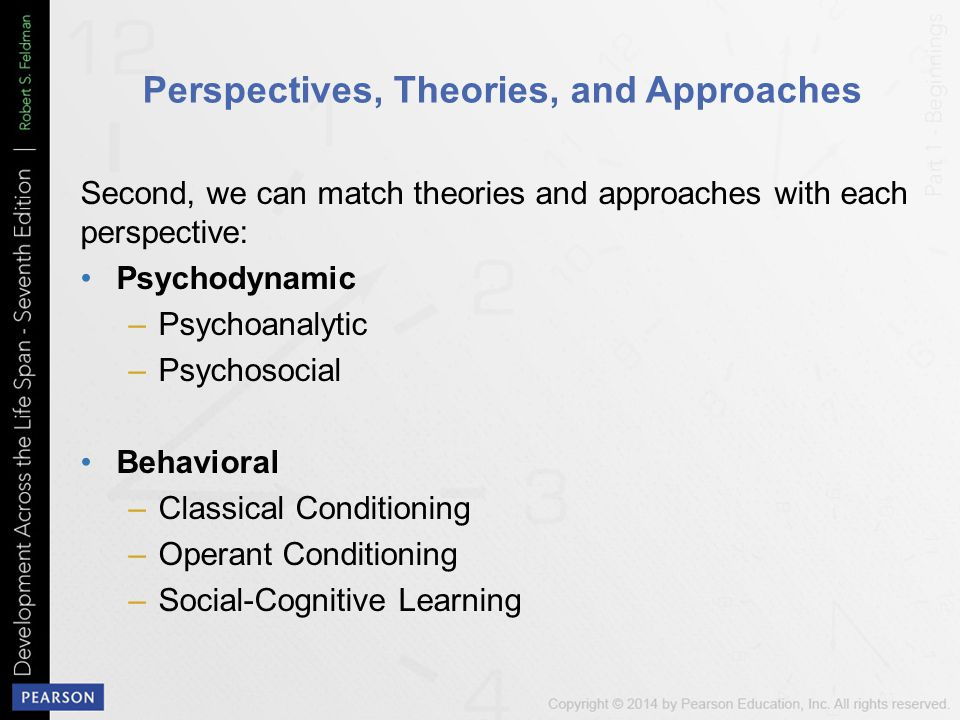 Perspectives, Theories, and Approaches