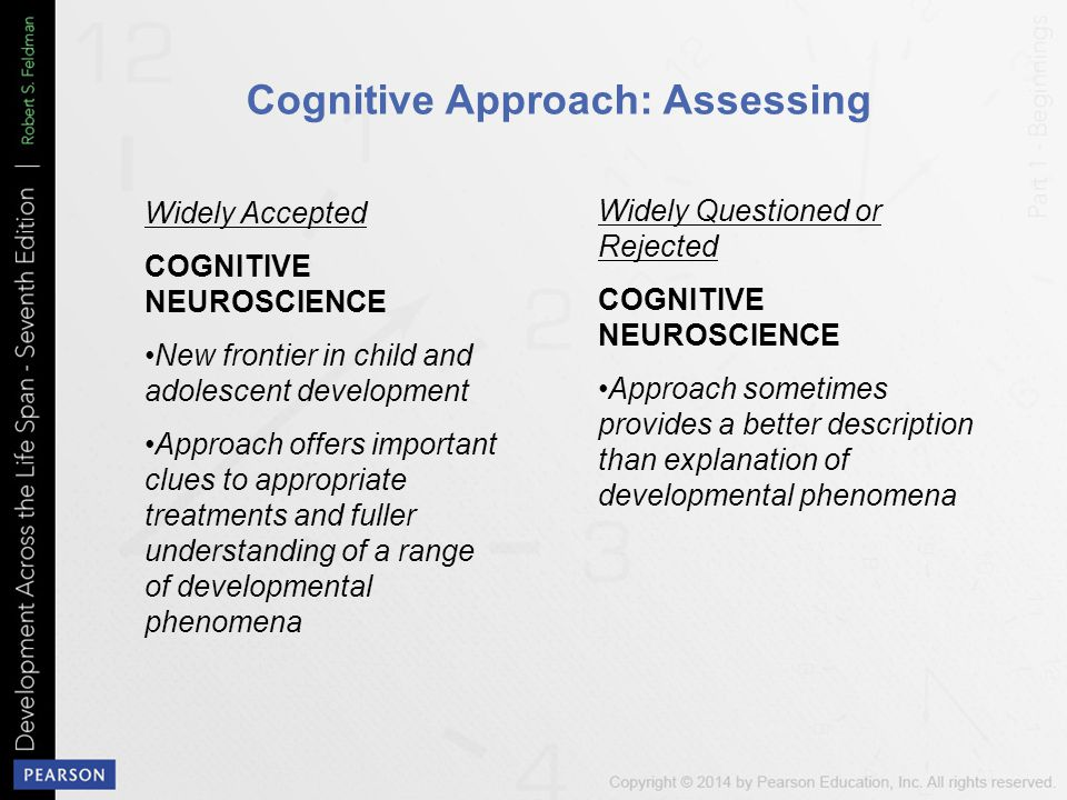 Cognitive Approach: Assessing