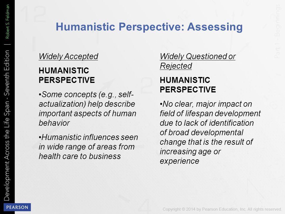 Humanistic Perspective: Assessing