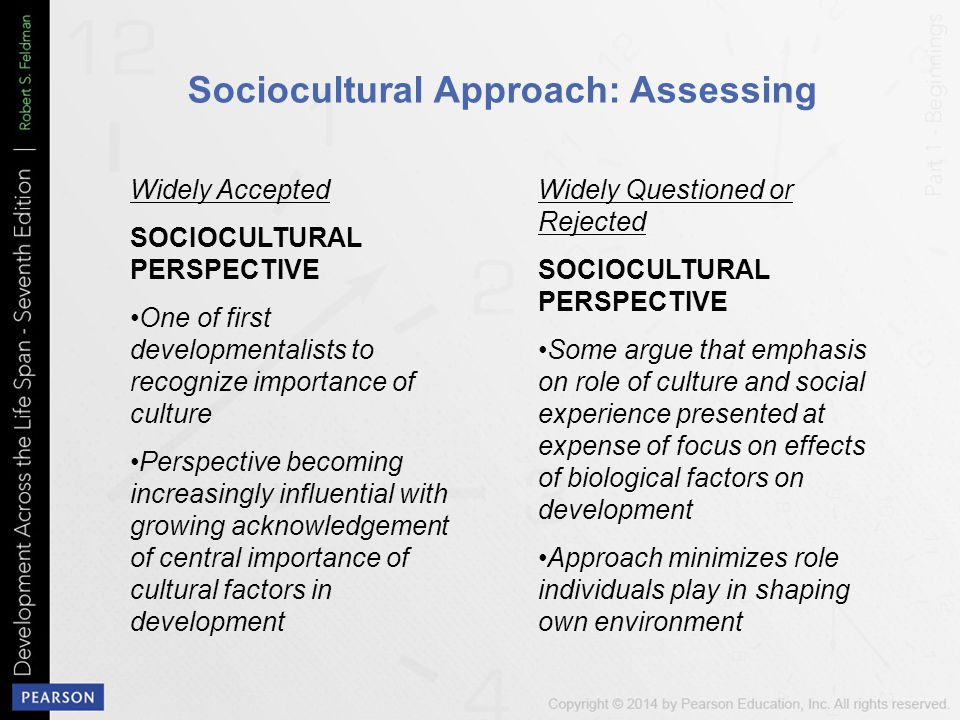 Sociocultural Approach: Assessing