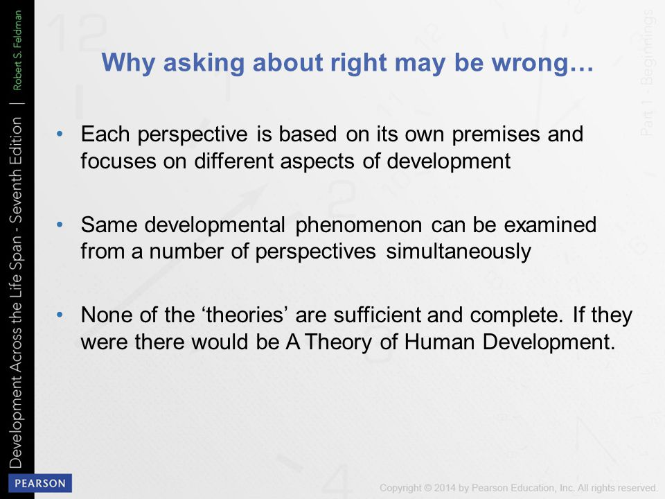 Why asking about right may be wrong…