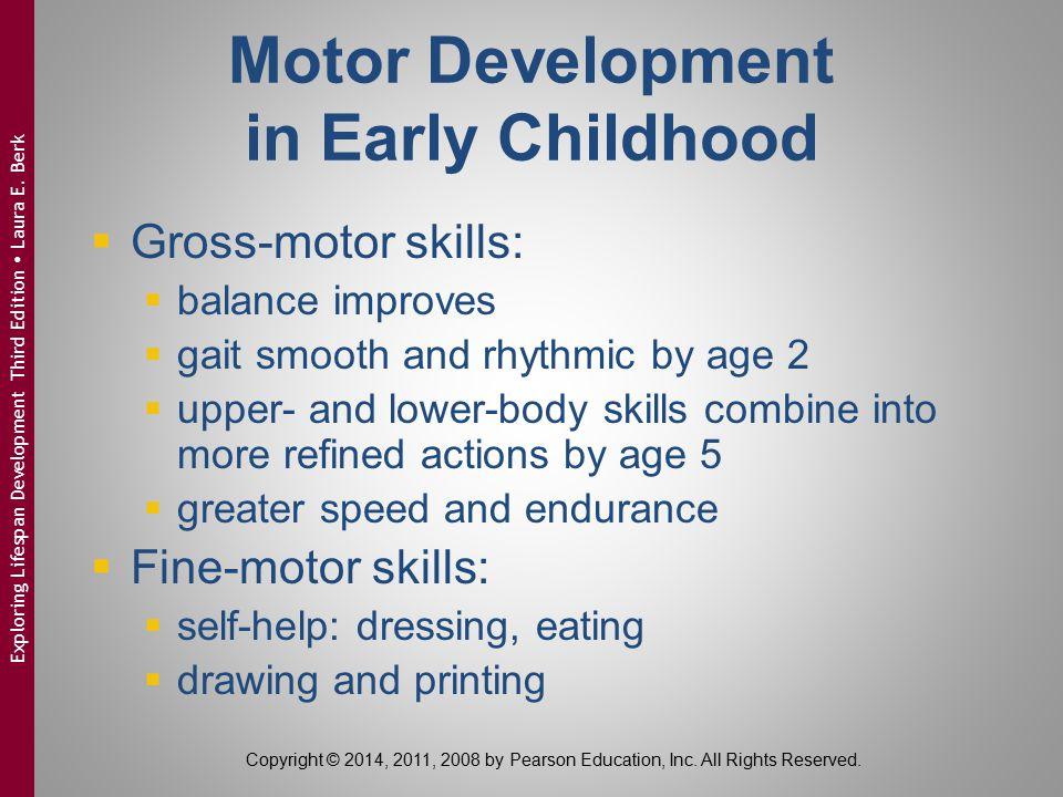 Motor Development in Early Childhood