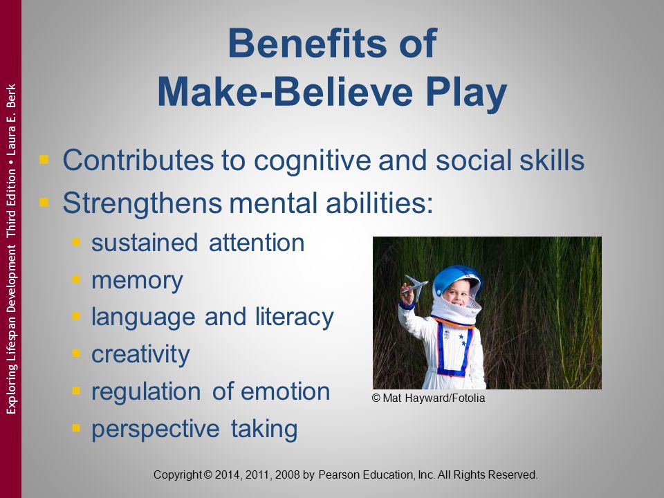 Benefits of Make-Believe Play