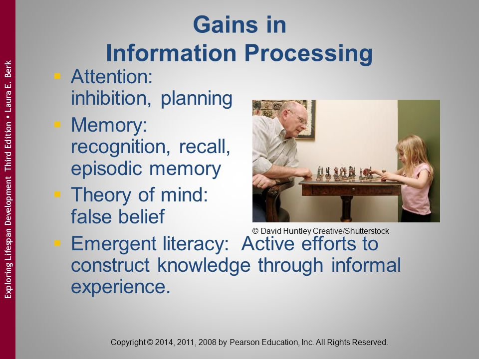 Gains in Information Processing