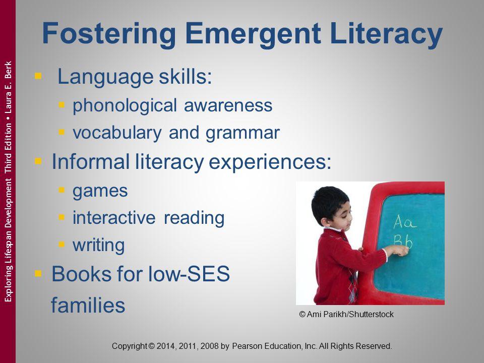Fostering Emergent Literacy