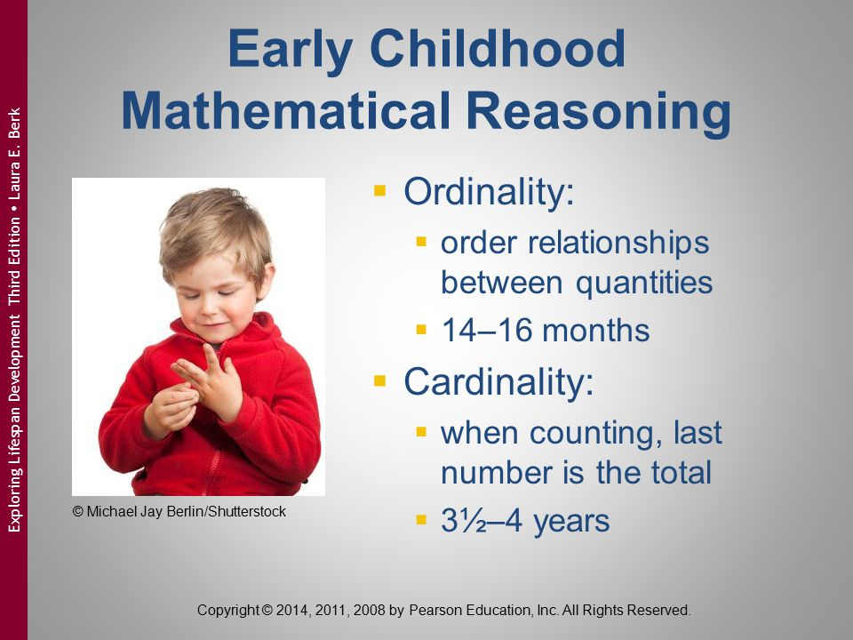 Early Childhood Mathematical Reasoning