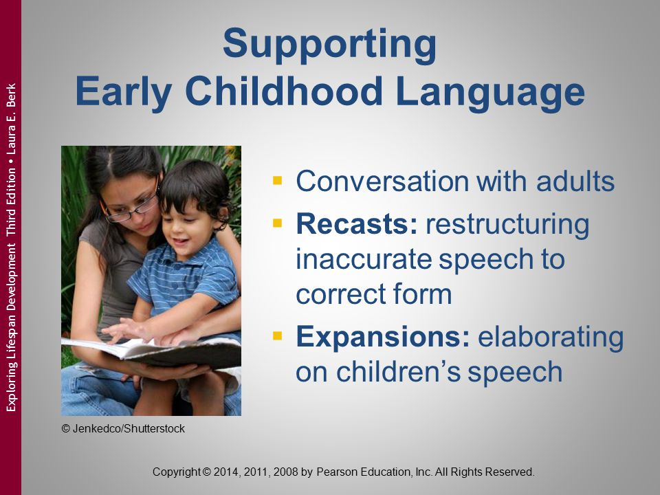 Supporting Early Childhood Language