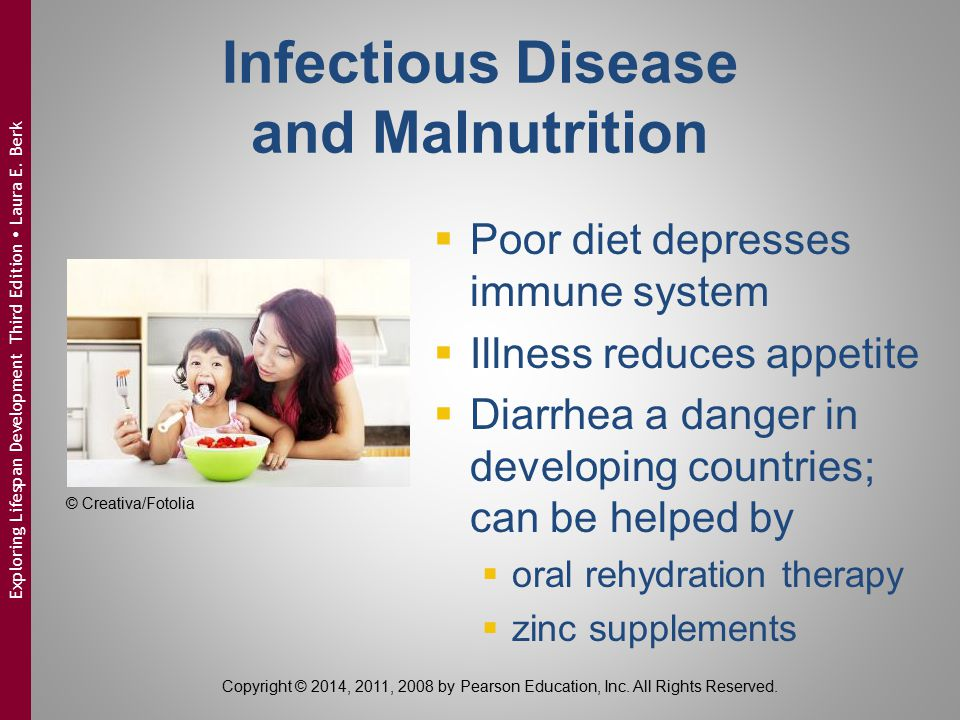 Infectious Disease and Malnutrition
