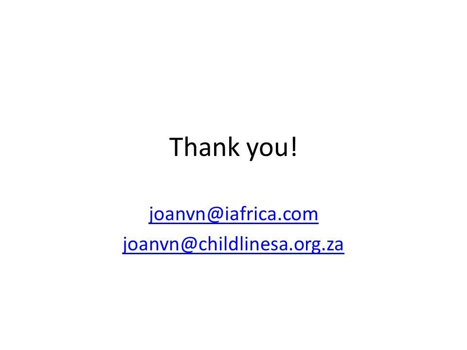 joanvn@iafrica.com joanvn@childlinesa.org.za