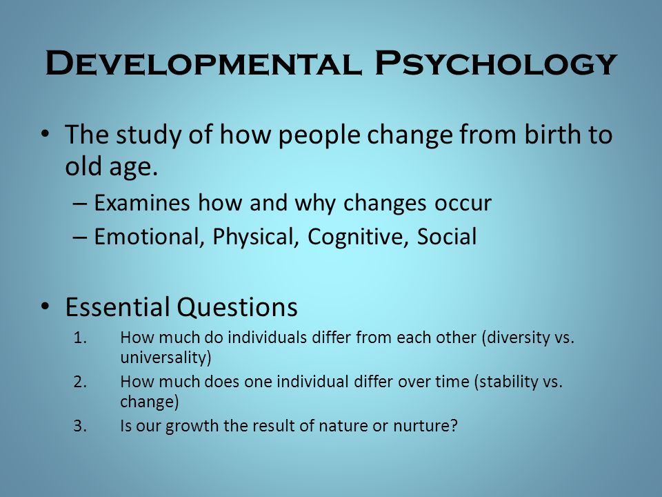 Psychology Lifespan Development Essay Free Psychology Essays Lifespan Development  The Yellow Wallpaper Critical Essay also How To Write An Application Essay For High School  Service Proposal