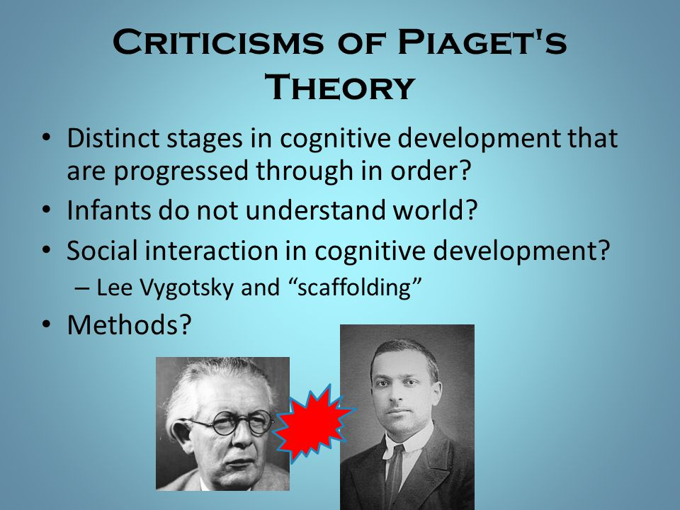 Criticisms of Piaget s Theory