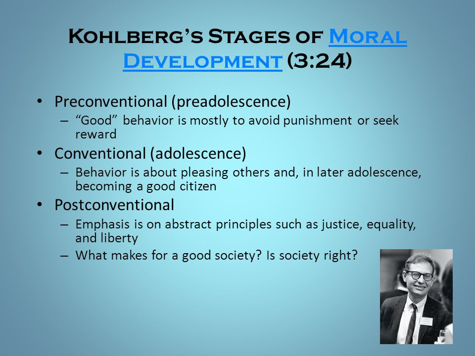 Kohlberg's Stages of Moral Development (3:24)