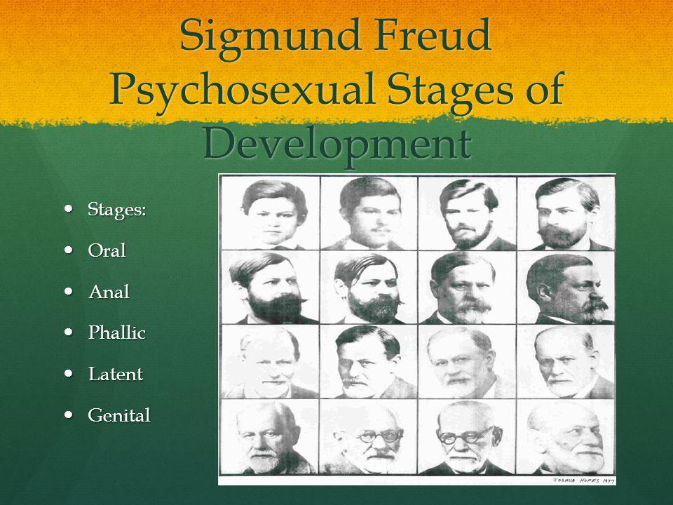 Sigmund Freud Psychosexual Stages of Development