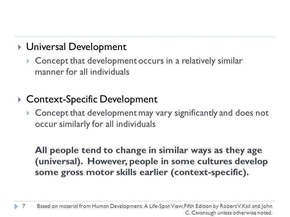 Universal Development