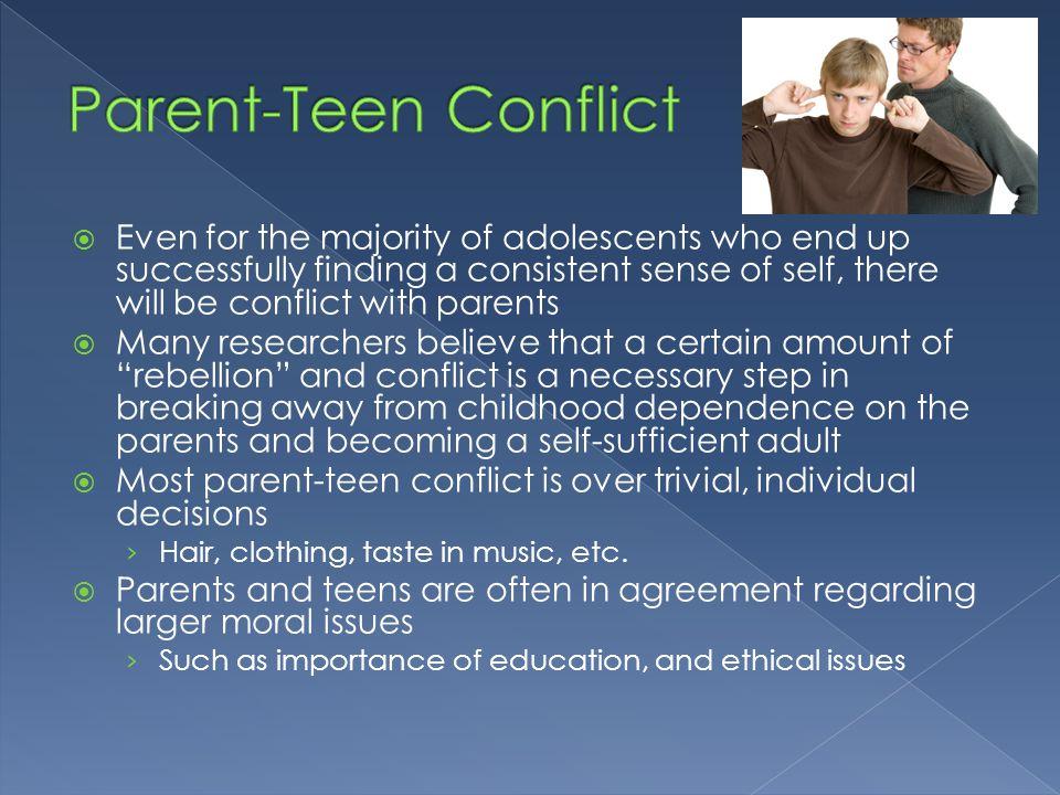 Parent-Teen Conflict