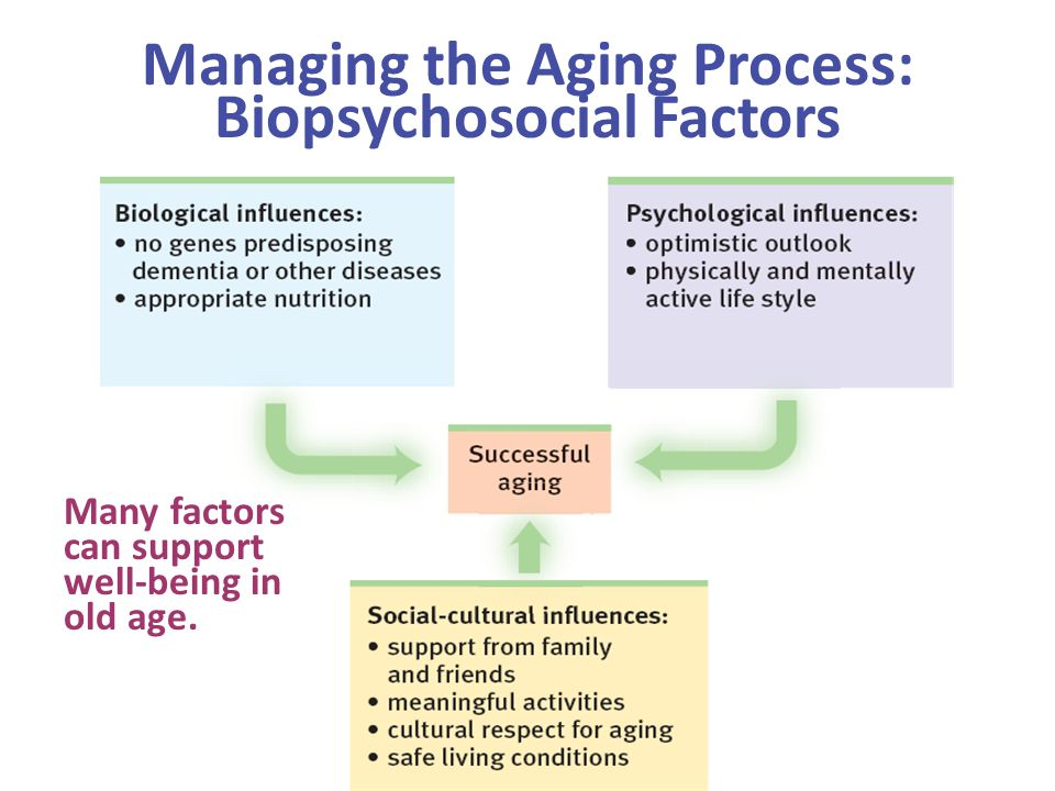 Managing the Aging Process: Biopsychosocial Factors