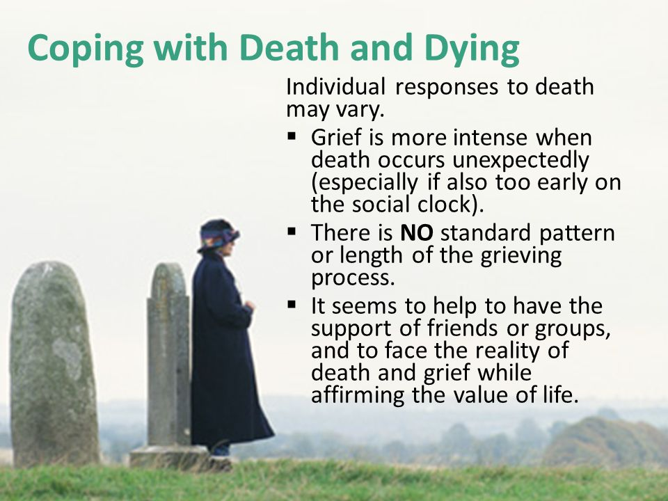 Coping with Death and Dying