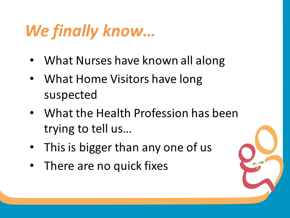 We finally know… What Nurses have known all along