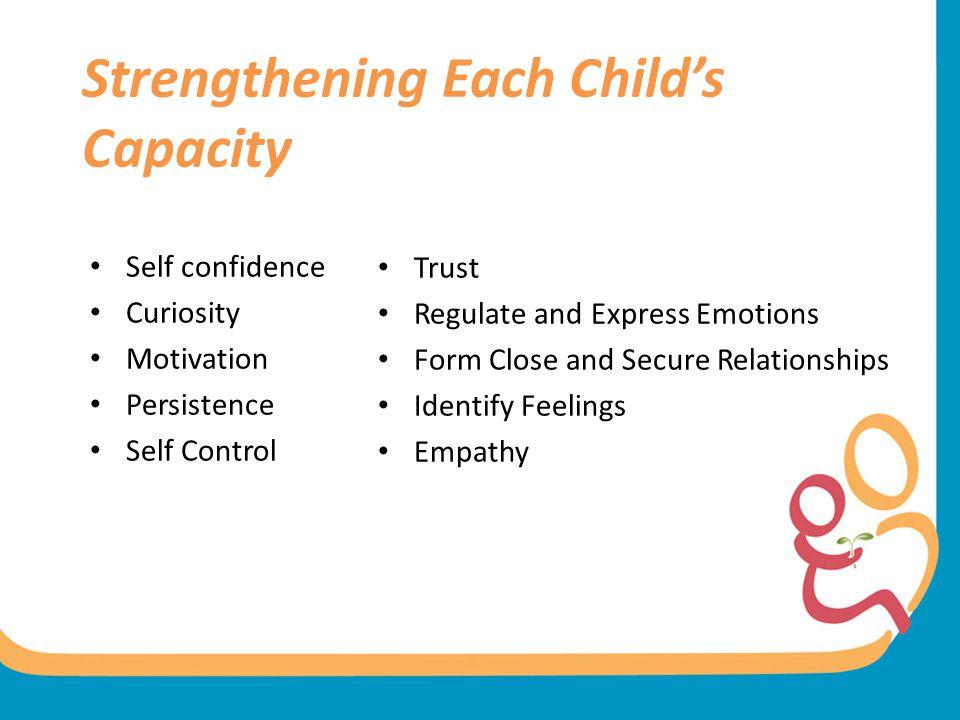 Strengthening Each Child's Capacity