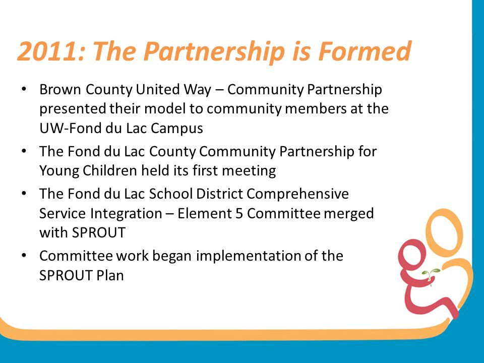 2011: The Partnership is Formed