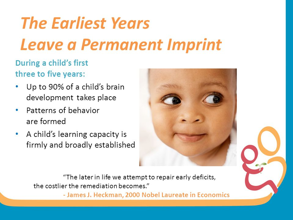 The Earliest Years Leave a Permanent Imprint