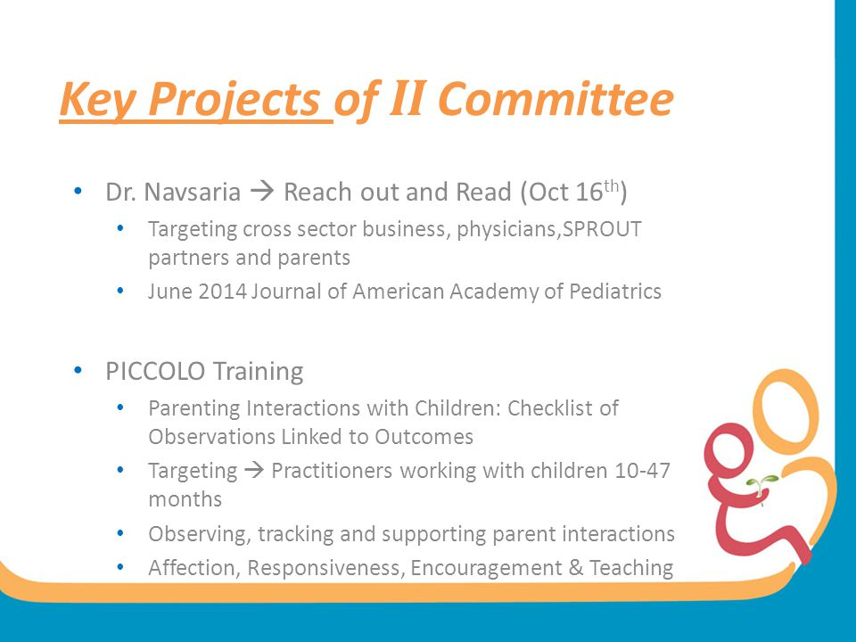 Key Projects of II Committee