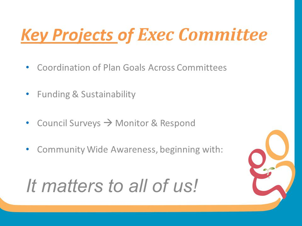 Key Projects of Exec Committee