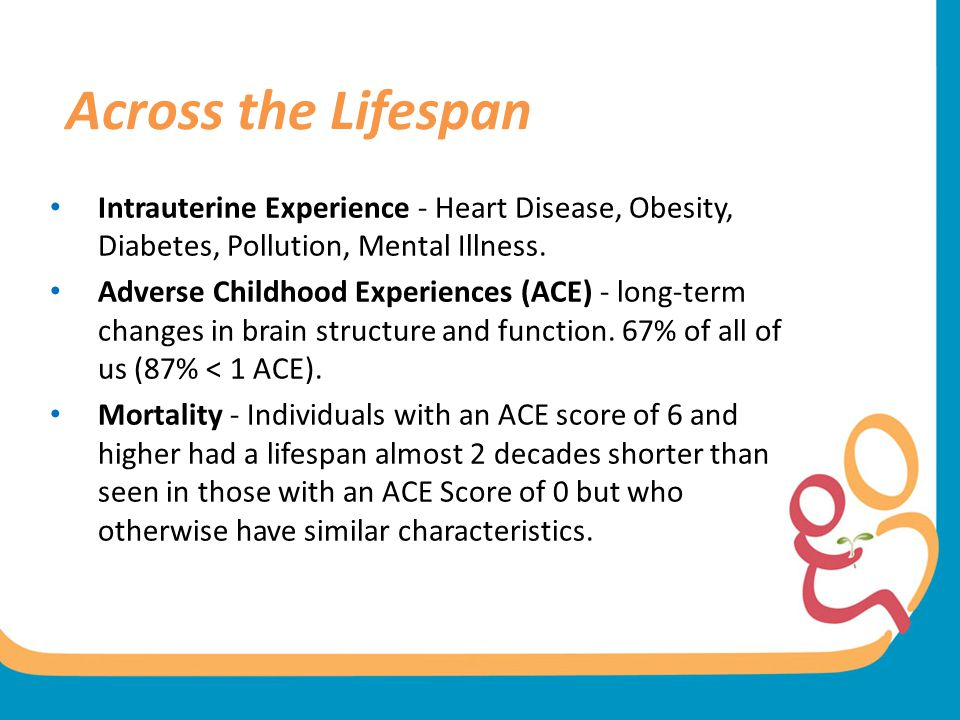 Across the Lifespan Intrauterine Experience - Heart Disease, Obesity, Diabetes, Pollution, Mental Illness.