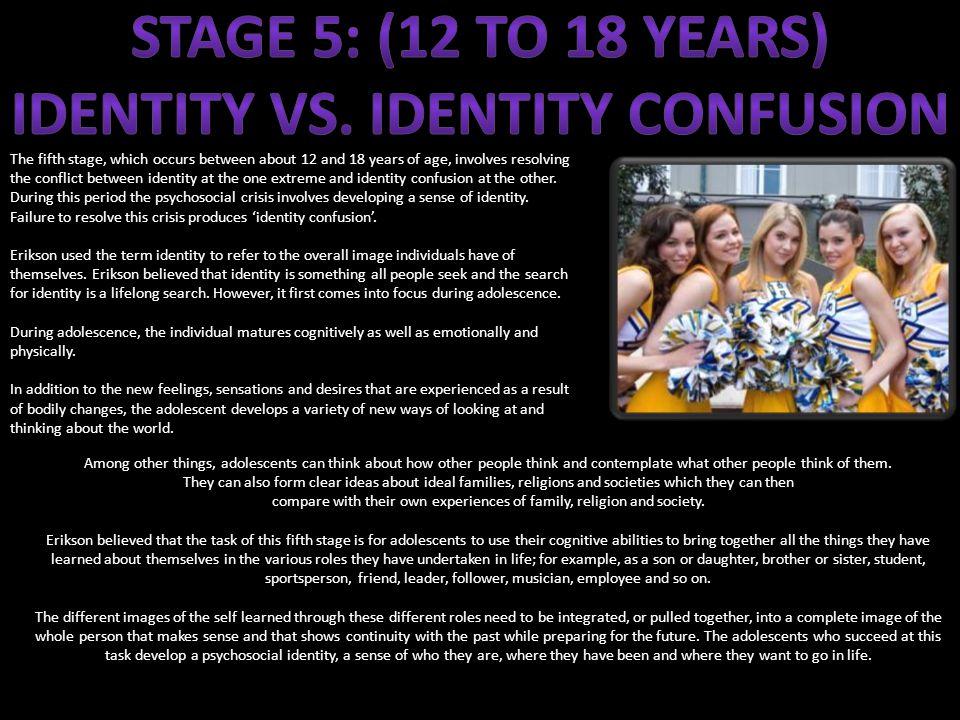 Identity vs. identity confusion