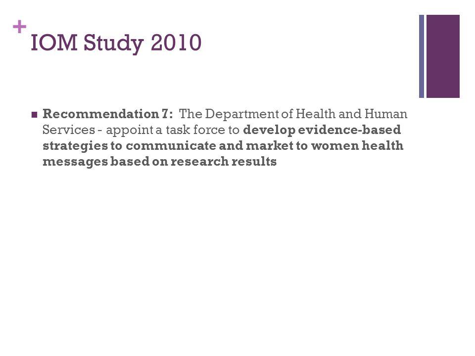 IOM Study 2010