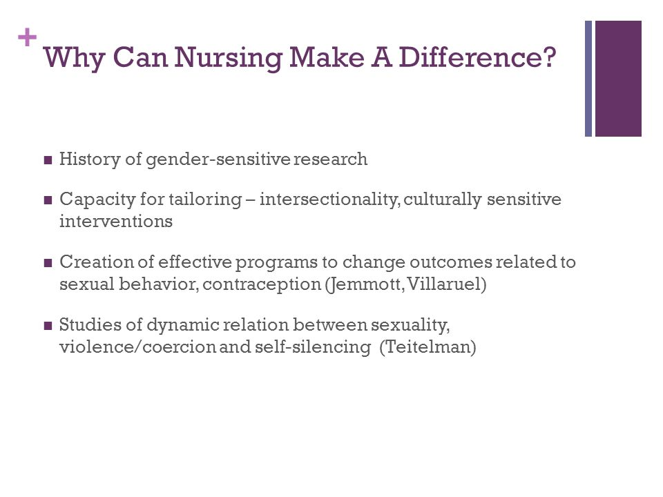 Why Can Nursing Make A Difference