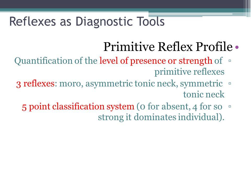 Reflexes as Diagnostic Tools