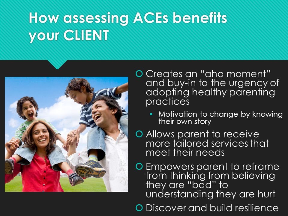 How assessing ACEs benefits your CLIENT