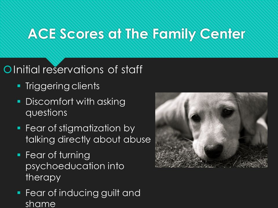 ACE Scores at The Family Center