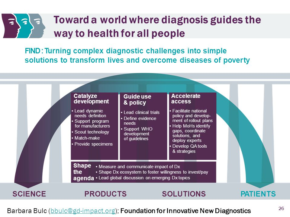 Toward a world where diagnosis guides the way to health for all people