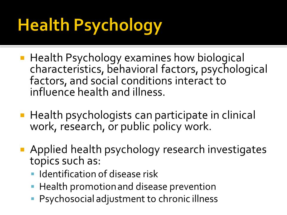health psychology dissertation About the clinical health psychology program students who minor take two courses and do not necessarily conduct their thesis/dissertation on a health-related topic.