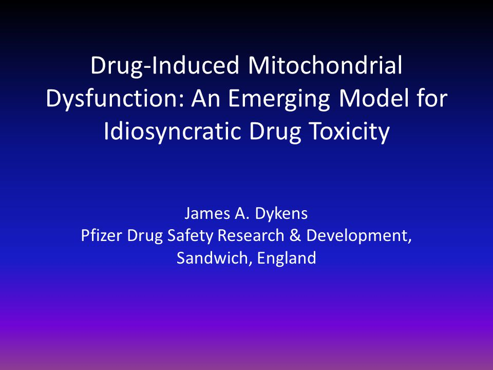 Pfizer Drug Safety Research & Development,
