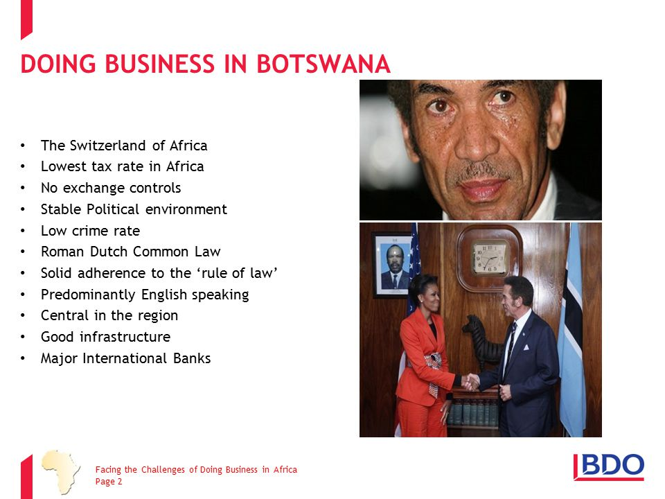 Doing Business in Botswana