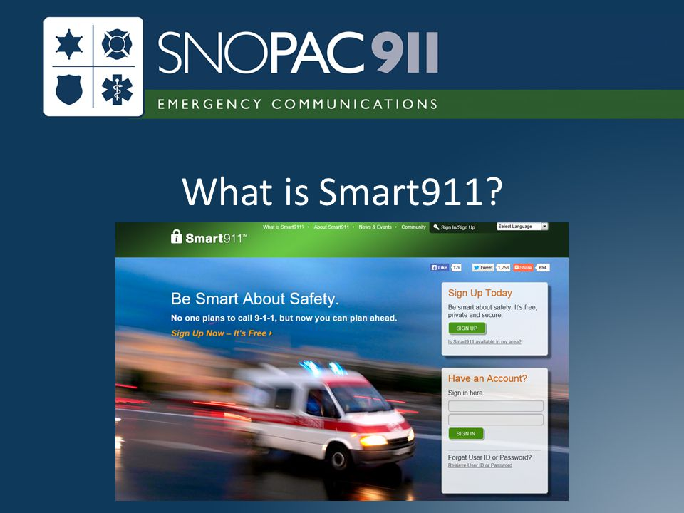 What is Smart911