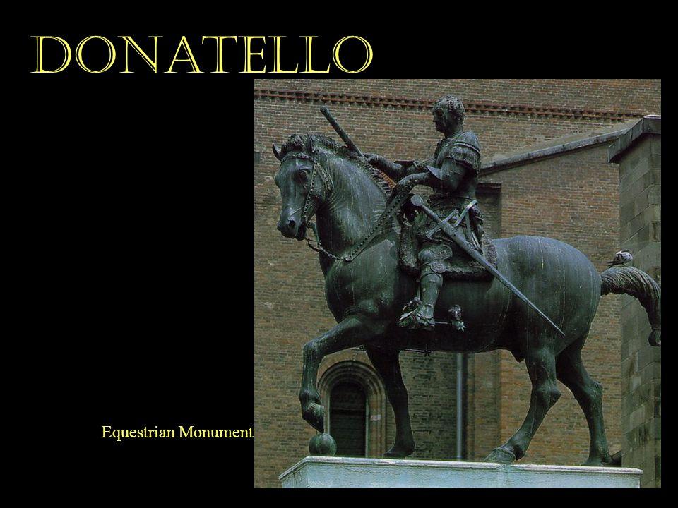 Donatello Equestrian Monument