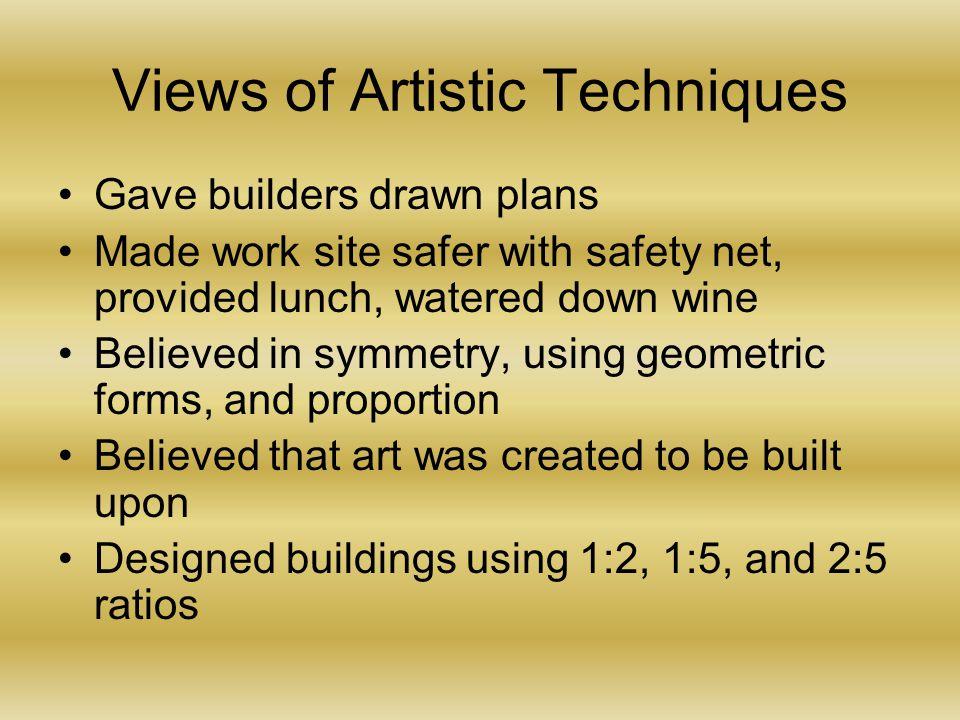Views of Artistic Techniques