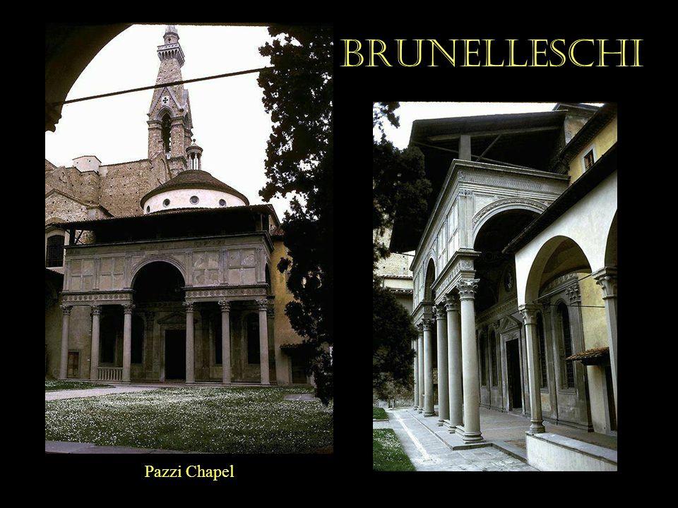 Brunelleschi Pazzi Chapel