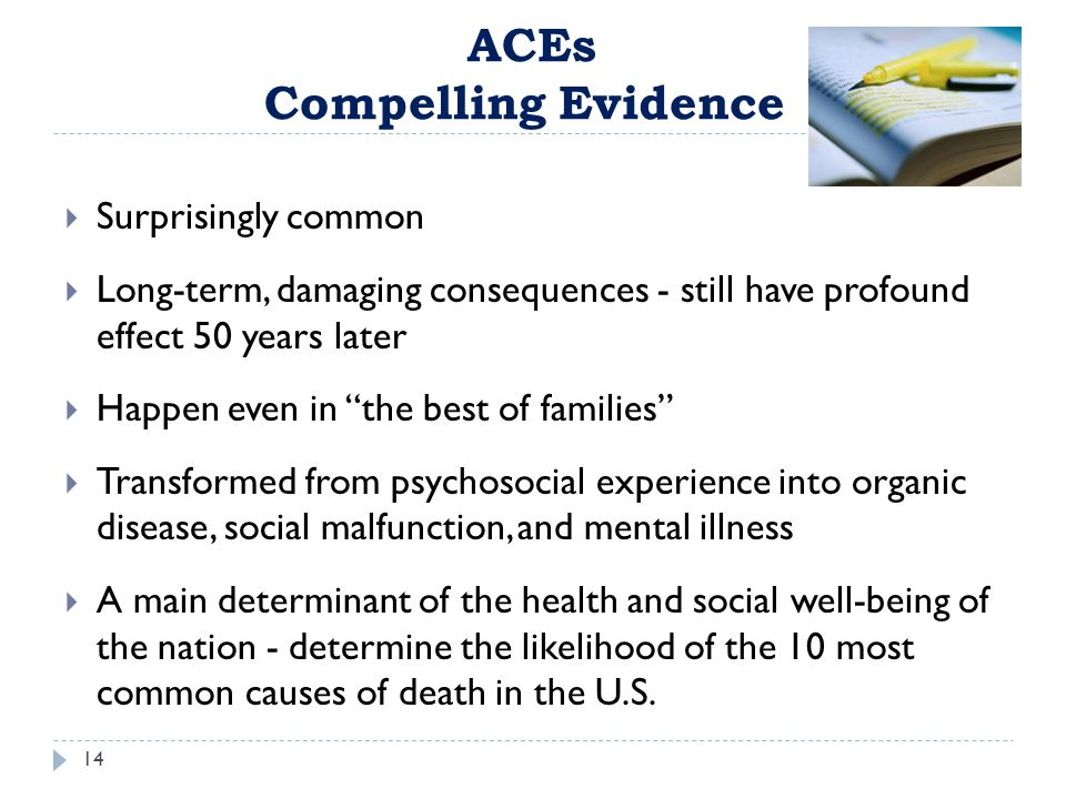 ACEs Compelling Evidence
