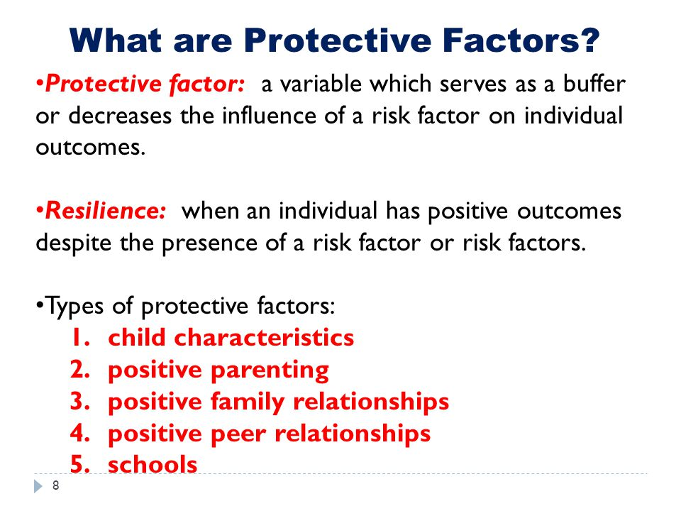 What are Protective Factors